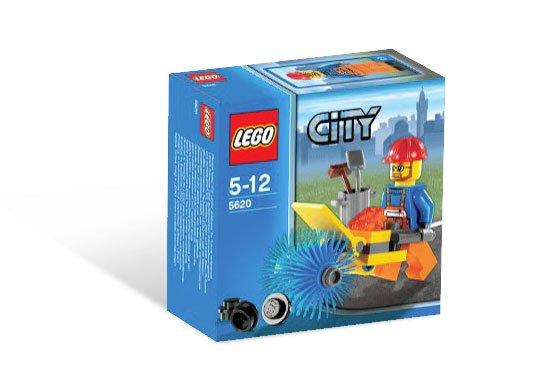 LEGO City-5620 Street Cleaner