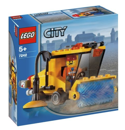 LEGO City-7242 Street Sweeper