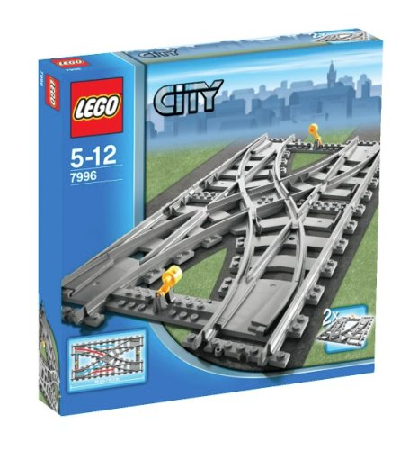 LEGO City-7996 Double Crossover Track