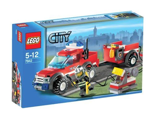 LEGO City-7942 Off-Road Fire Rescue