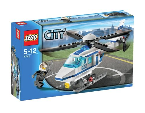 LEGO City-7741 Police Helicopter
