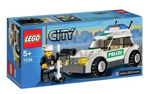 LEGO City-7236 Police Car