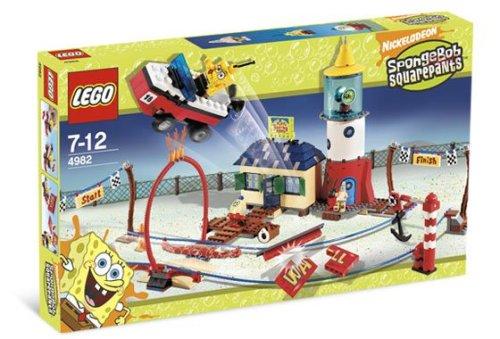 LEGO Sponge Bob-4982  Mrs. Puff's Boating School