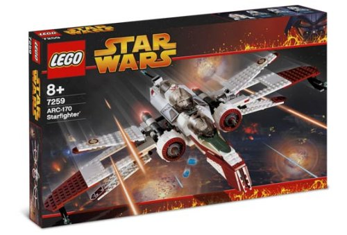 LEGO Star Wars-7259 ARC-170 Starfighter
