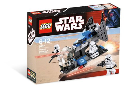 LEGO Star Wars-7667 Imperial Dropship