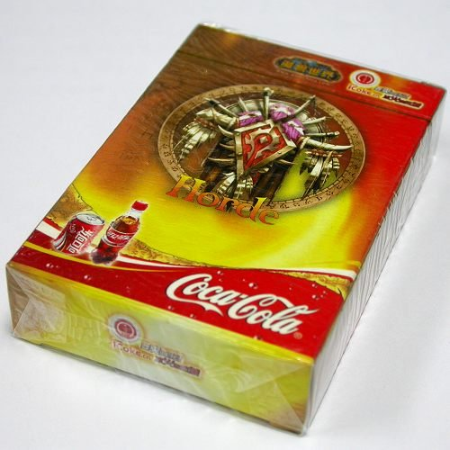 2006 Coca-Cola World Of Warcraft WoW Poker Limited Edition Advertising Playing Cards