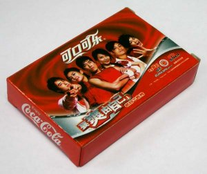 """2006 Coca-Cola Coke """"Show Myself"""" Poker Set Limited Edition Advertising Playing Cards"""