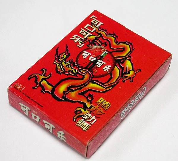 Coca-Cola Chinese Coke Dragon Poker Set Limited Edition Advertising Playing Cards