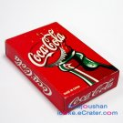 1984 Coca-Cola Red Coke Bottle Poker Set Limited Edition Advertising Playing Cards