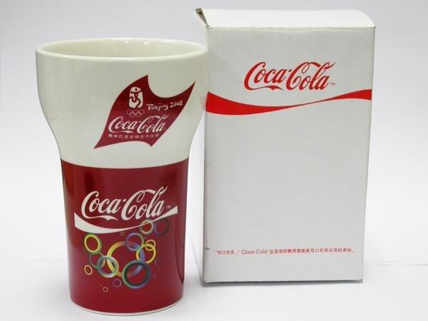 Coca-Cola 2008 Beijing Olympics Game Coke Porcelain Mug / Cup