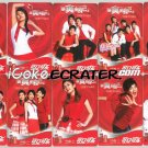 2006 COCA-COLA ShowMySelf 10 COKE CALENDAR POCKET TRADING CARDS