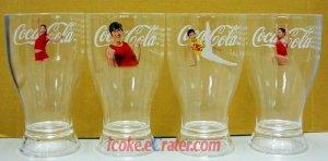 Coca-Cola 2004 Athens Olympic China Champions Coke Mugs Cups Set