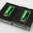 2 DECKS OF HEINEKEN BEER JAMES BOND 007 PLAYING CARDS