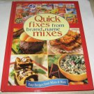 QUICK FIXES FROM BRAND NAME MIXES Cookbook