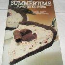 Pillsbury Favorite Summertime recipes 1981 Classic No.9