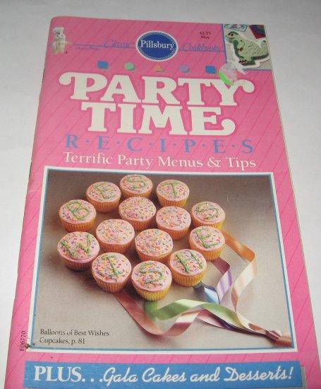 Pillsbury Classic  no. 99 Party Time Recipes 1989