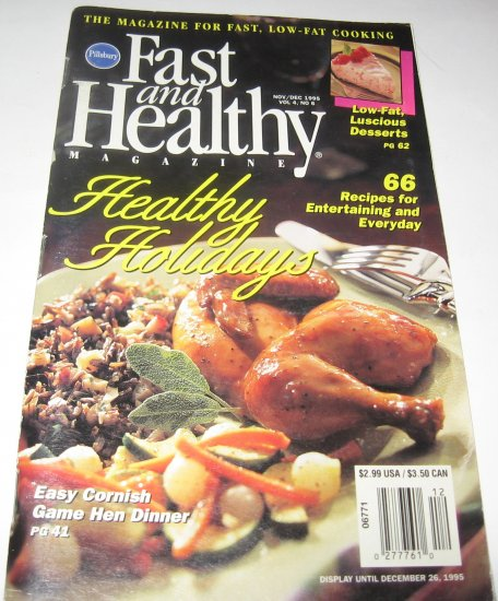 Pillsbury Fast and Healthy 1995 Vol 4 No 6
