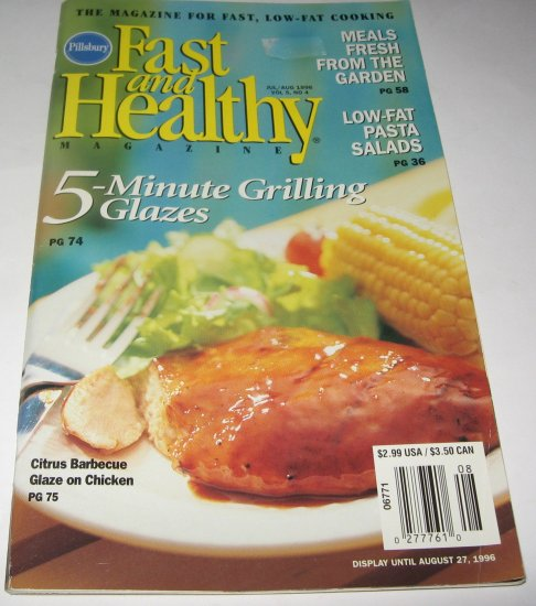 Pillsbury Fast and Healthy 1996 Vol 5 No 4