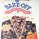 Pillsbury Bake off 33rd contest cookbook 1988