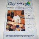 Chef Tells Llorente Gourmet Cookbook c.2000