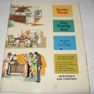 Festive Foods Wisconsin Gas Company 1966 cookbook