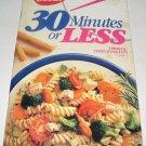 Betty Crocker 30 Minutes or Less cookbook