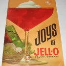 Joys of Jello Gelatin Dessert cookbook