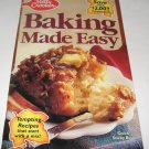 Betty Crocker Baking Made Easy cookbook