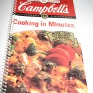 Campbell's Cooking in Minutes   cookbook