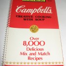 Campbell's Creative Cooking with Soup   cookbook