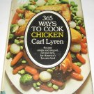 365 ways to cook chicken cookbook Carl Lyren