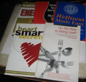 5 Staying Healthy Pamphlets