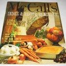 McCalls Index and Recipe Reminder Cookbook