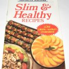 Slim and Healthy  Recipes Best of Favorite Recipes cookbook
