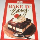 Duncan Hines Bake It Easy Favorite Recipes cookbook