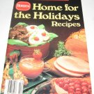 Borden Home for the holidays Favorite Recipes cookbook