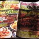 Taste of Home 4 magazines 2004 and 2005 recipe booklet