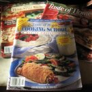 Taste of Home 3 magazines 2000 and 2001 recipe booklet
