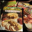 Taste of Home 3 magazines 1998 recipe booklet
