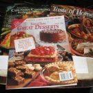 Taste of Home 3 magazines 1996 recipe booklet