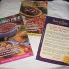 Taste of Home Savings pack Supplements from 1999 recipe booklet