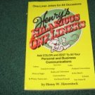 Henry's Hilarious Oneliners by Henry W. Haverstock c.1991