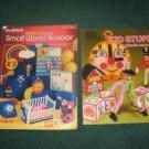 Plastic Canvas Small World Bazaar and Kid Stuff
