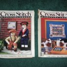 Cross Stitch and Country Crafts magazines 1988