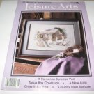 Leisure Arts The magazine June 1988 Cross Stitch