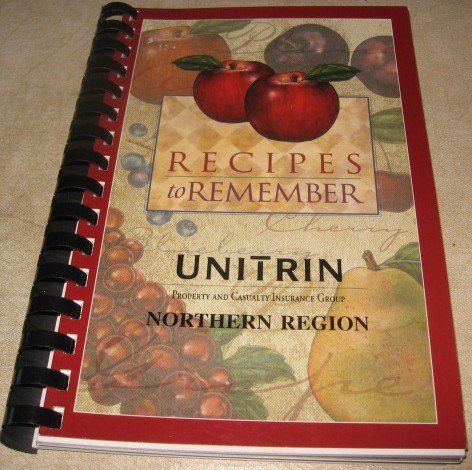 Recipes to remember  recipe booklet