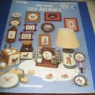 Leisure Arts Folk Art Minis Leaflet 338 Cross Stitch