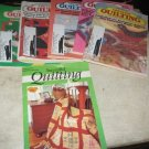 Creative Quilting booklets 1990
