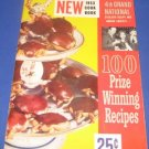 Pillsbury 4 th Grand National Bake-off Cookbook 1953