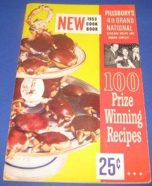 Pillsbury 4 th Grand National Bake-off Cookbook 1953